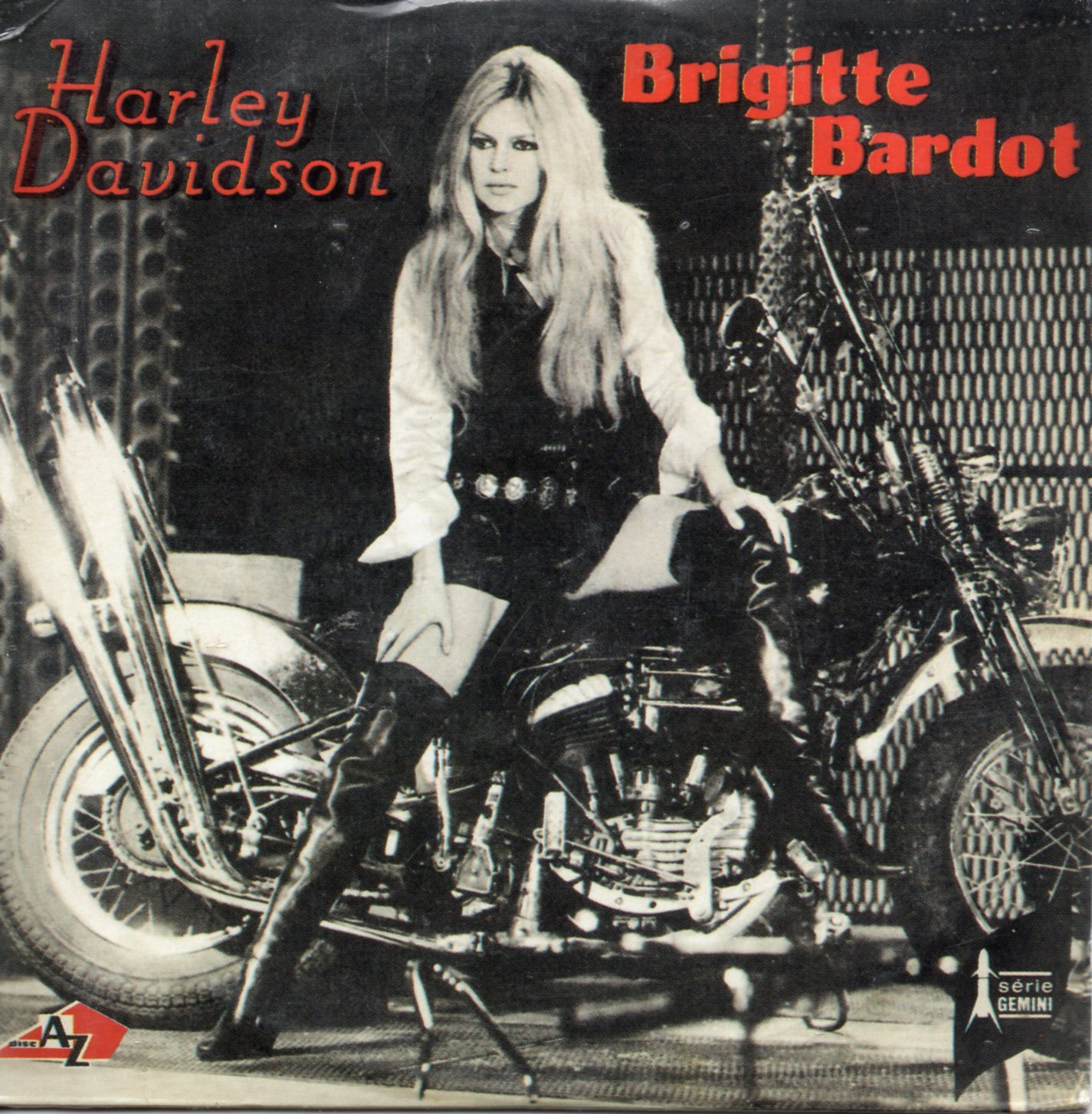 BRIGITTE BARDOT - Harley Davidson 2-track CARD SLEEVE - CD single