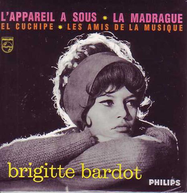 BRIGITTE BARDOT - L'Appareil A Sous 4-track CARD SLEEVE - CD single