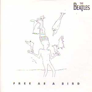 BEATLES - Free As A Bird 2-track Card Sleeve