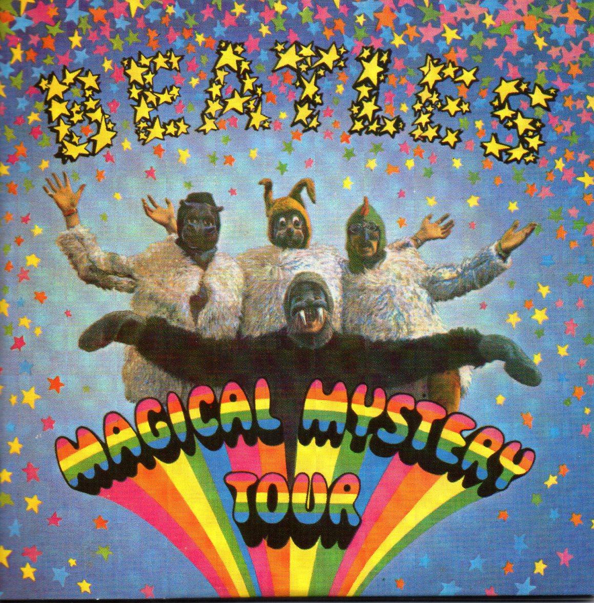 THE BEATLES - Magical mystery tour EP - 2 X 6-TRACK Leaflet sleeve 2 CD singles - CD x 2