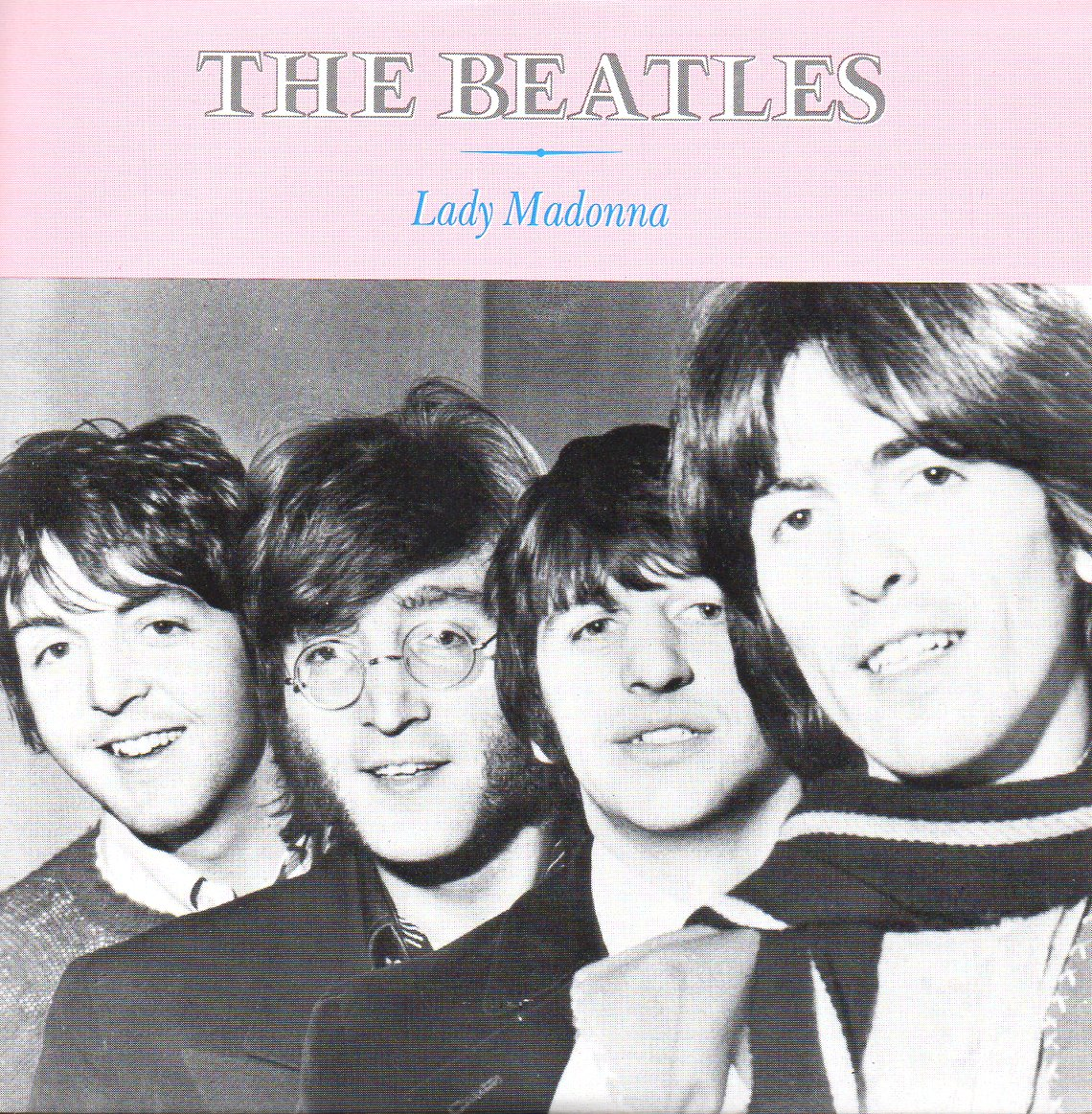 THE BEATLES - Lady Madonna 2-Track CARD SLEEVE - CD single