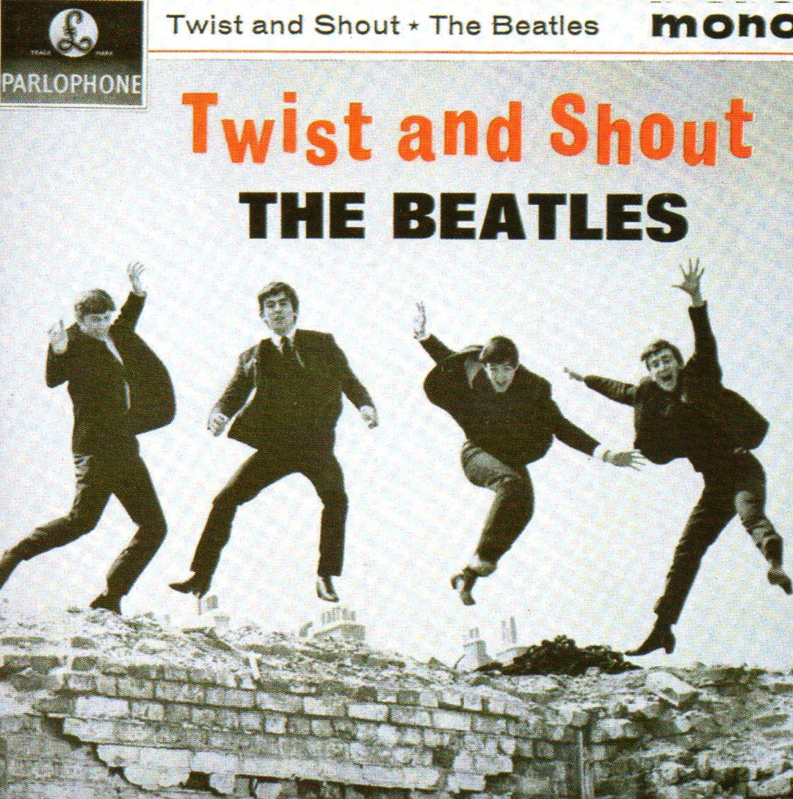 THE BEATLES - Twist and Shout EP REPLICA 4-TRACK CARD SLEEVE - CD single