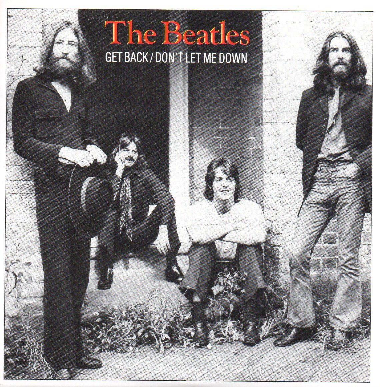 THE BEATLES - Get back 2-Track CARD SLEEVE - CD single