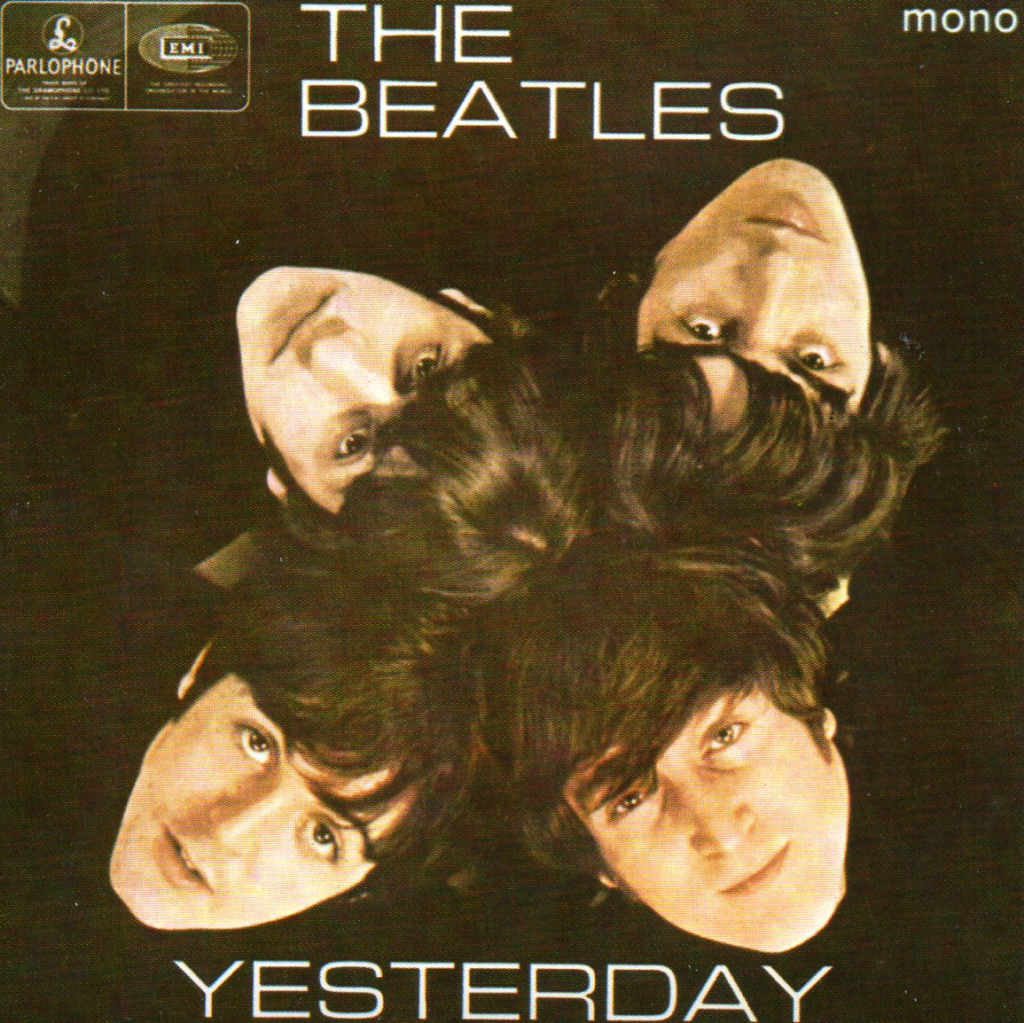 THE BEATLES - Yesterday EP REPLICA 4-TRACK CARD SLEEVE - CD single