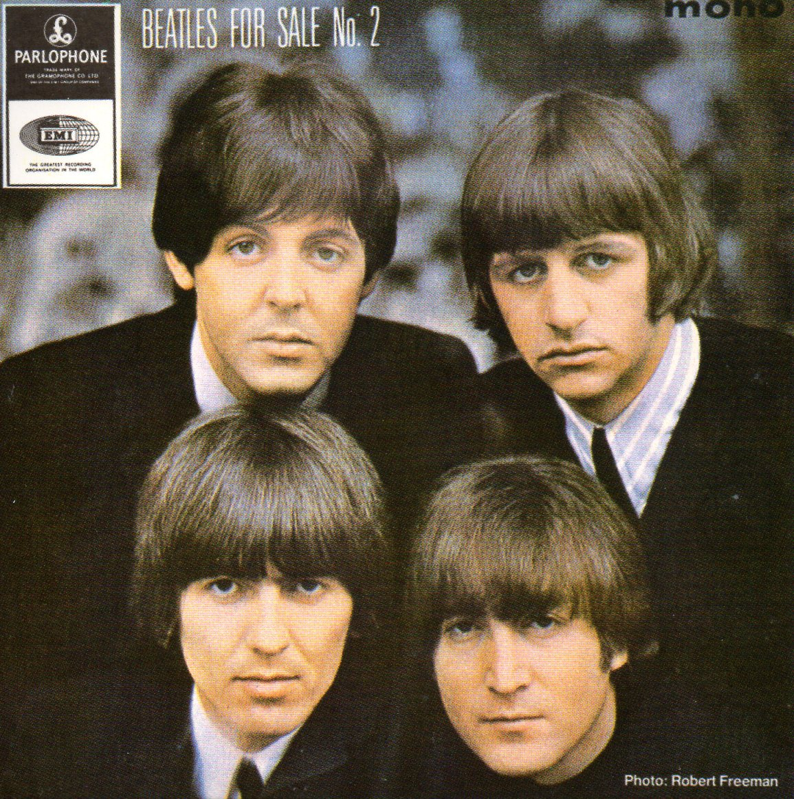 THE BEATLES - Beatles for sale (N°. 2) EP 4-TRACK CARD SLEEVE - CD single
