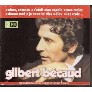 GILBERT BECAUD - 2CD box set / Coffret 2 CD Espagne - 45T (SP 2 titres)