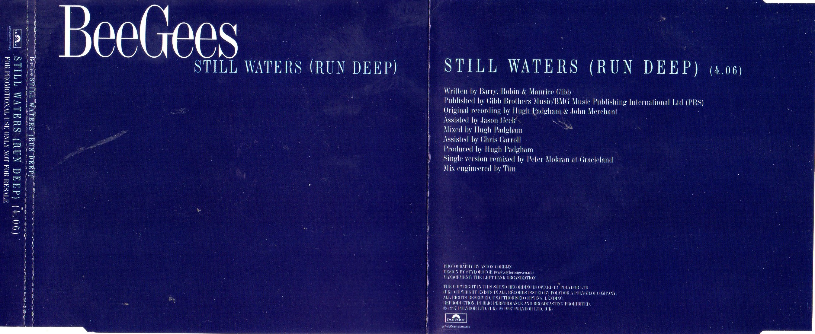 BEE GEES - Still Waters Run Deep 4 Tracks Jewel Case