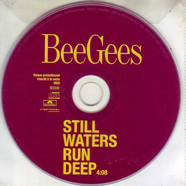 BEE GEES - Still Waters Run Deep - French Promo 1-track