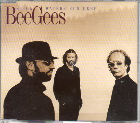 BEE GEES - Still Waters Run Deep Promo 1-track Jewel Case