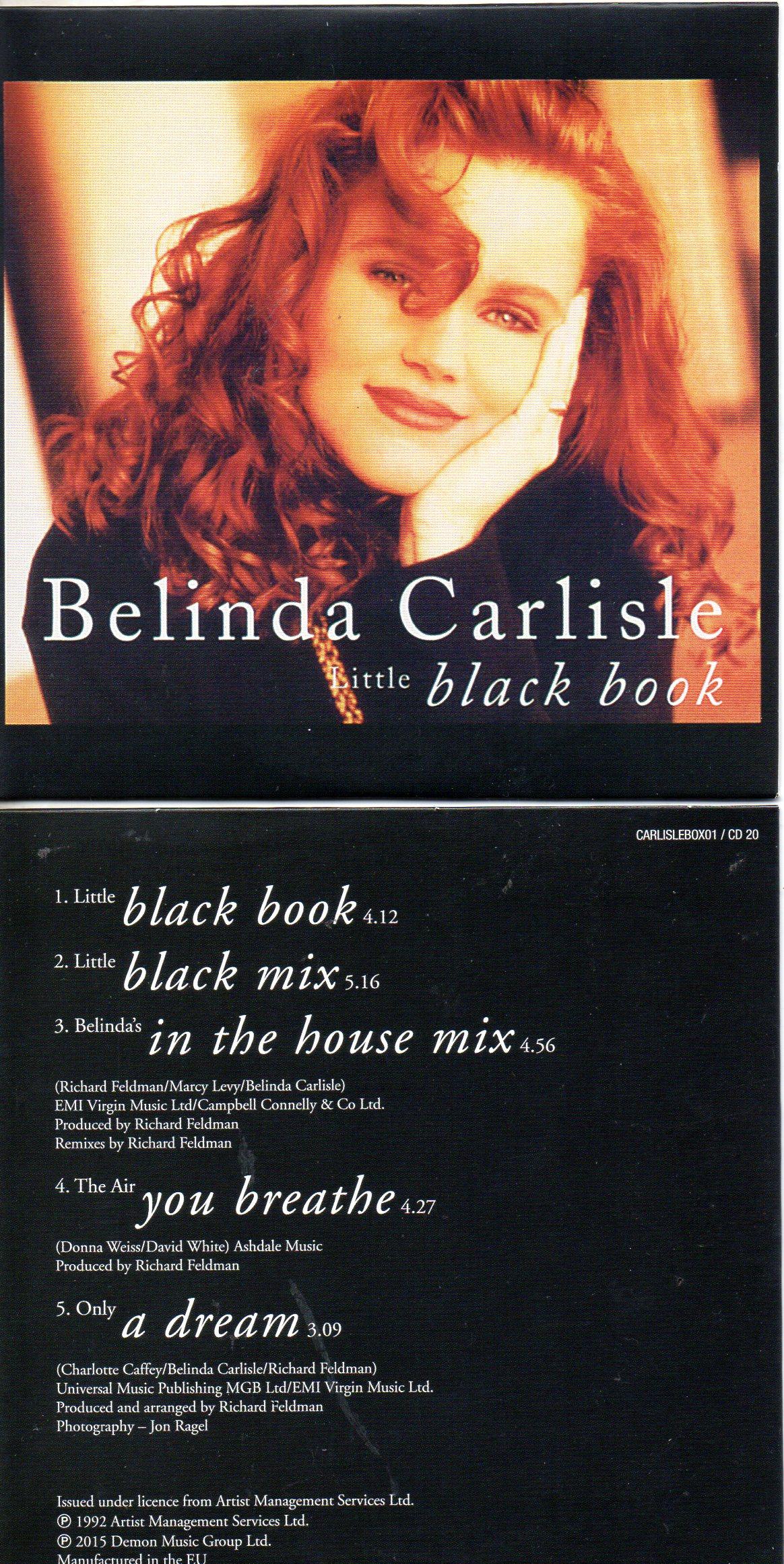 Belinda CARLISLE - Little Black Book   5-track Card Sleeve Remixes
