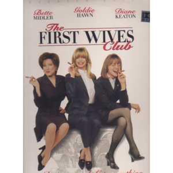BETTE MIDLER - The first wives club Laser disc US - Laser Disc