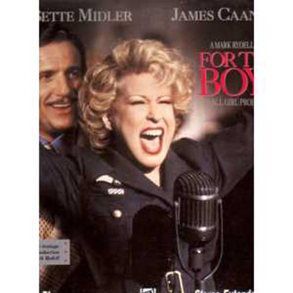 BETTE MIDLER / FILM FOR THE BOYS - For the boys Double Laser disc NTSC - Laser Disc