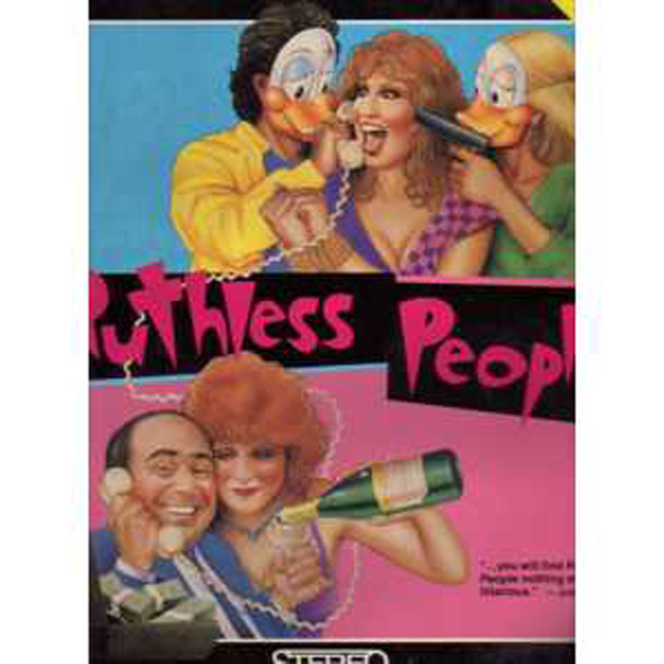 BETTE MIDLER / FILM RUTHLESS PEOPLE - Ruthless people  Laser disc NTSC USA - Laser Disc