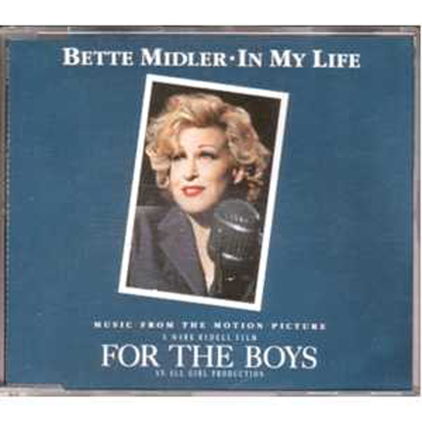 BETTE MIDLER / THE BEATLES / SOUNDTRACK FOR THE BO - In my life 4 tracks jewel case - CD Maxi