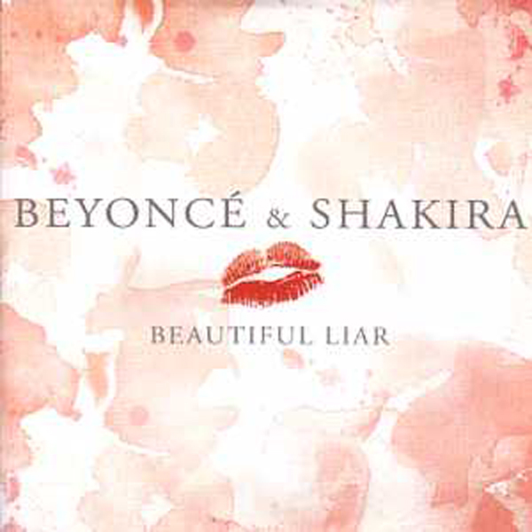 BEYONCÉ KNOWLES & SHAKIRA - Beautiful liar CARD SLEEVE 2-track - CD single