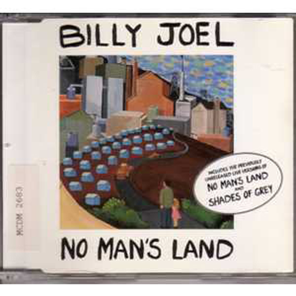 Billy JOEL - No Man's Land 3 Tracks Jewel Case