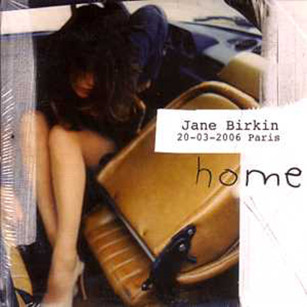 JANE BIRKIN - Home promo 1-track CARD SLEEVE - CD single