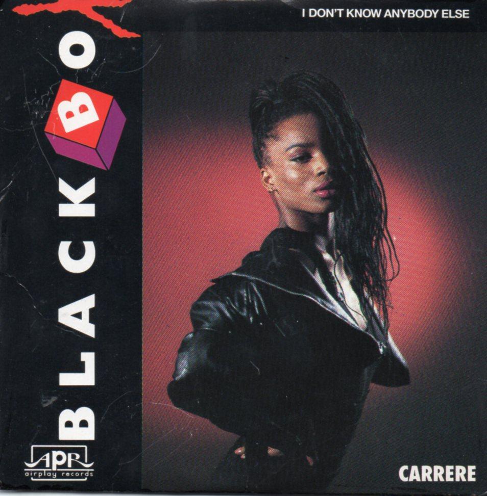 BLACK BOX - I don't know anybody else 3-track CARD SLEEVE - CD single