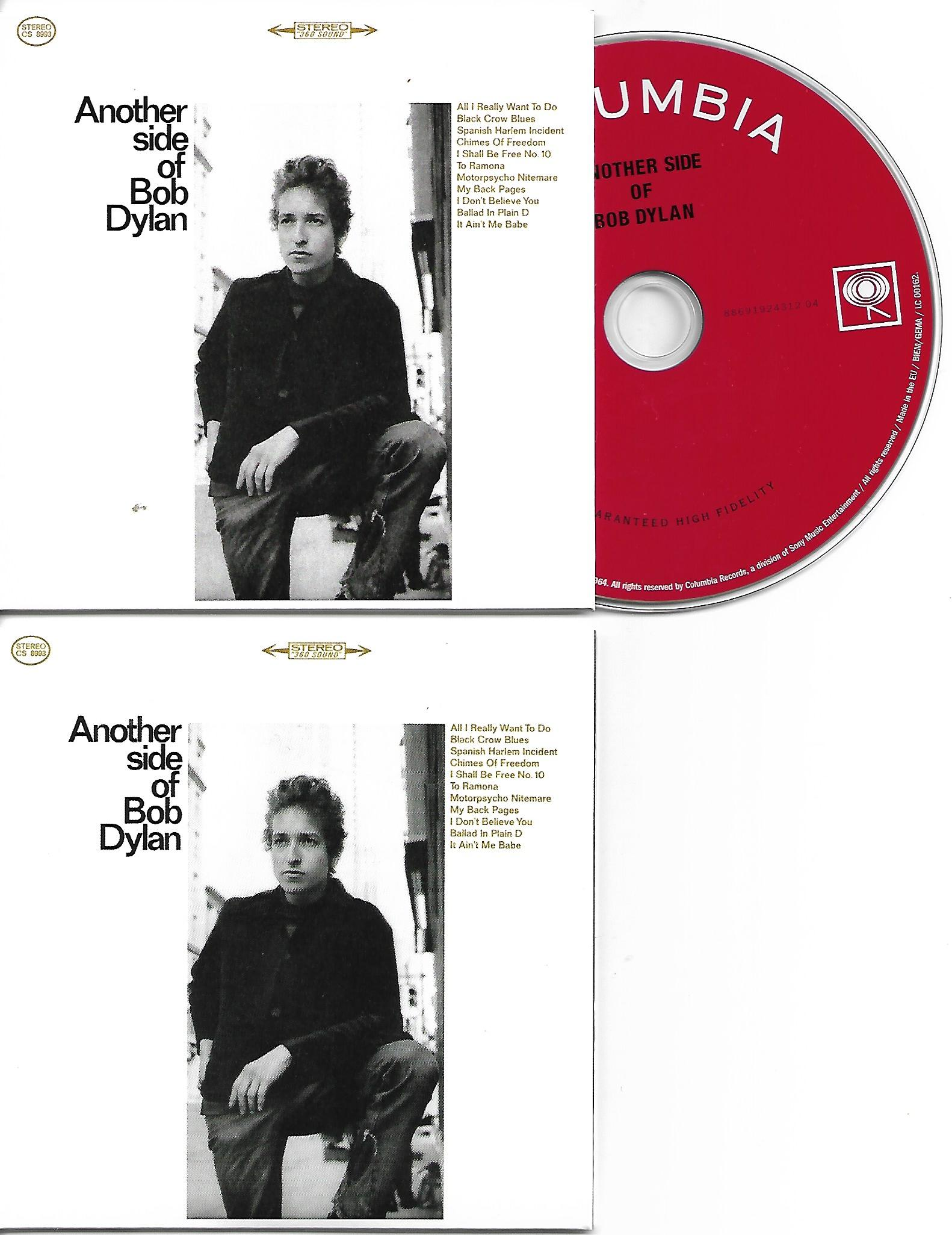 BOB DYLAN - Another Side of Bob Dylan 1964 - MINI LP REPLICA CARD BOARD SLEEVE - CD