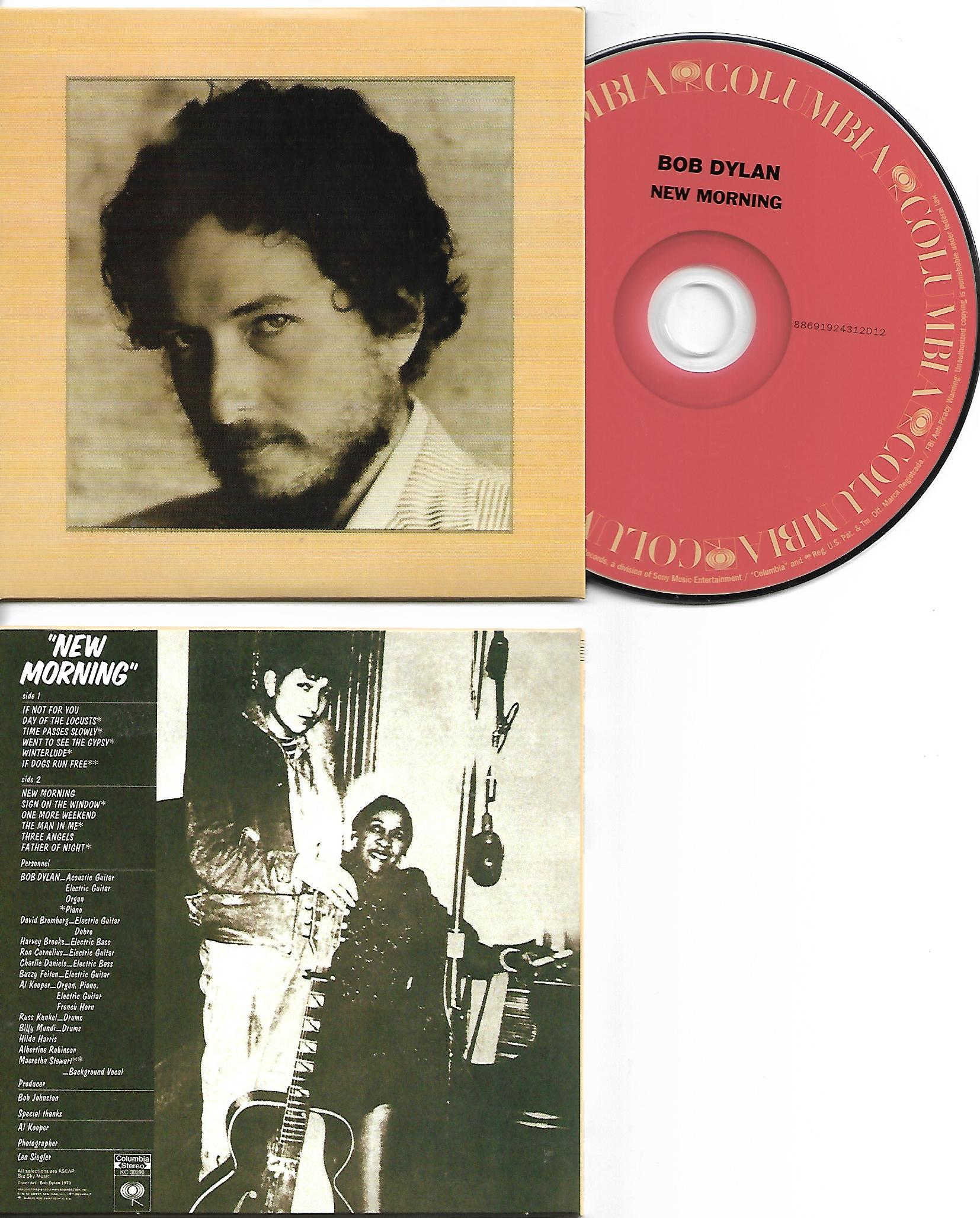 BOB DYLAN - New Morning 1970 - MINI LP REPLICA CARD BOARD SLEEVE - CD