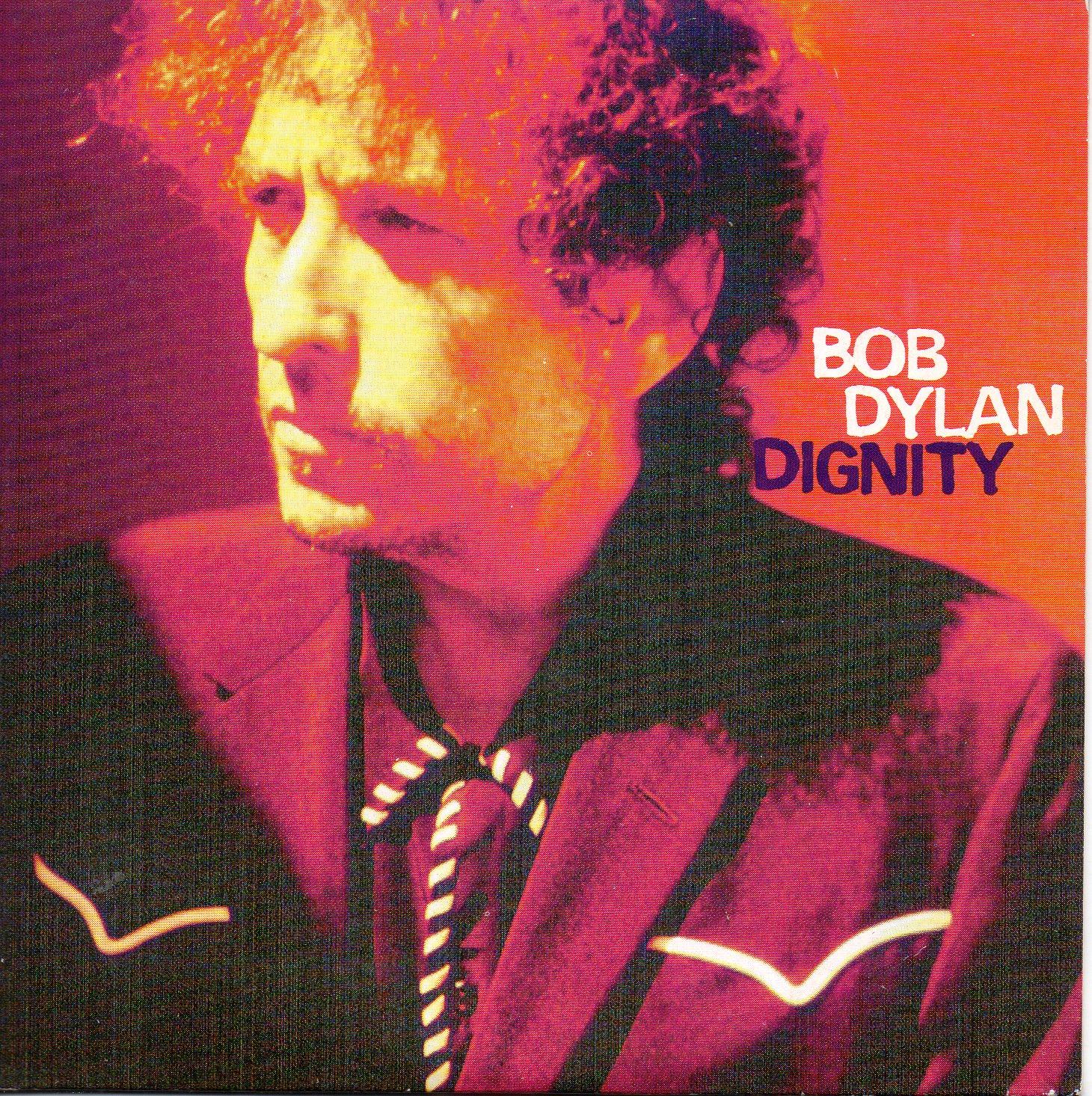 BOB DYLAN - Dignity 2-track CARD SLEEVE - CD single