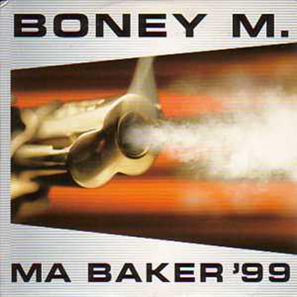 BONEY M - Ma baker 99 2 Tracks CARD SLEEVE - CD single