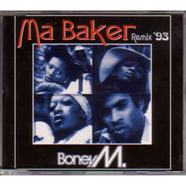 BONEY M - Ma baker remix 93 4 Tracks Jewel case - MCD