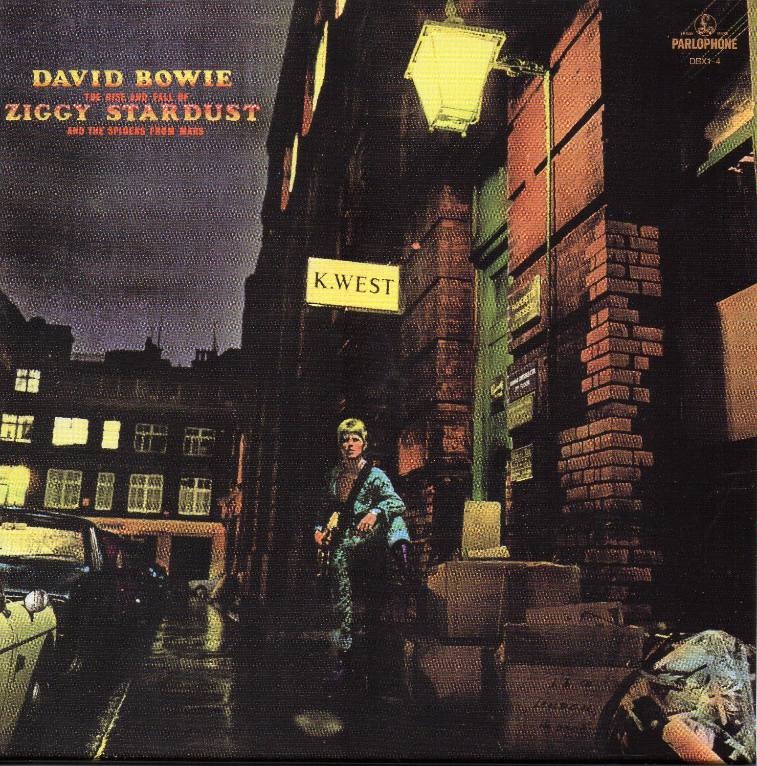David BOWIE - The Rise And Fall Of Ziggy Stardust And The Spiders From Mars (1972 - Mini Lp Replica Card Sleeve -