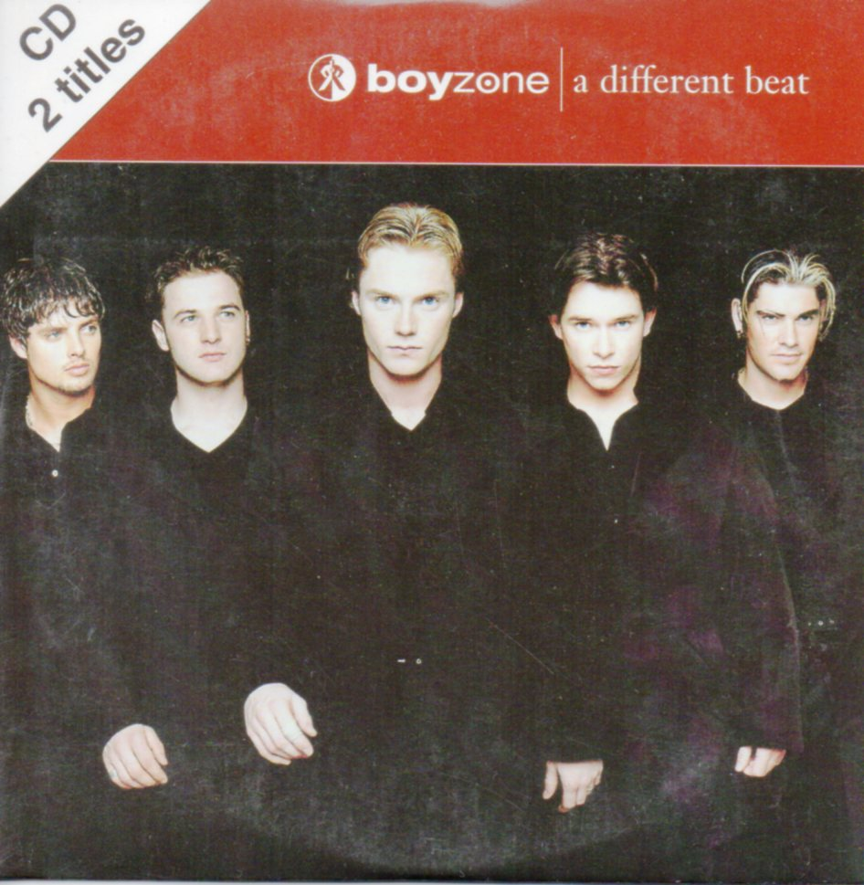 BOYZONE - A different beat 2-Track CARD SLEEVE - CD single