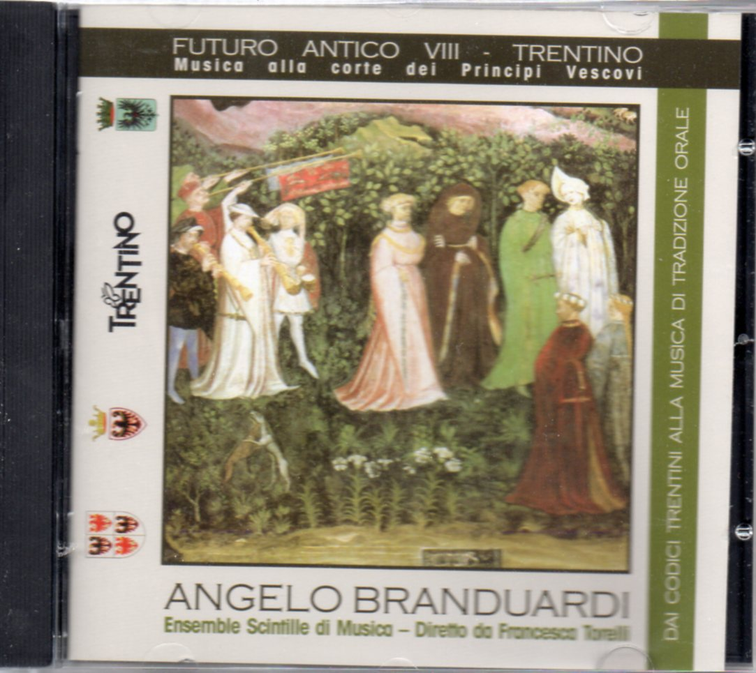 ANGELO BRANDUARDI - Futuro Antico VIII - Trentino - CD