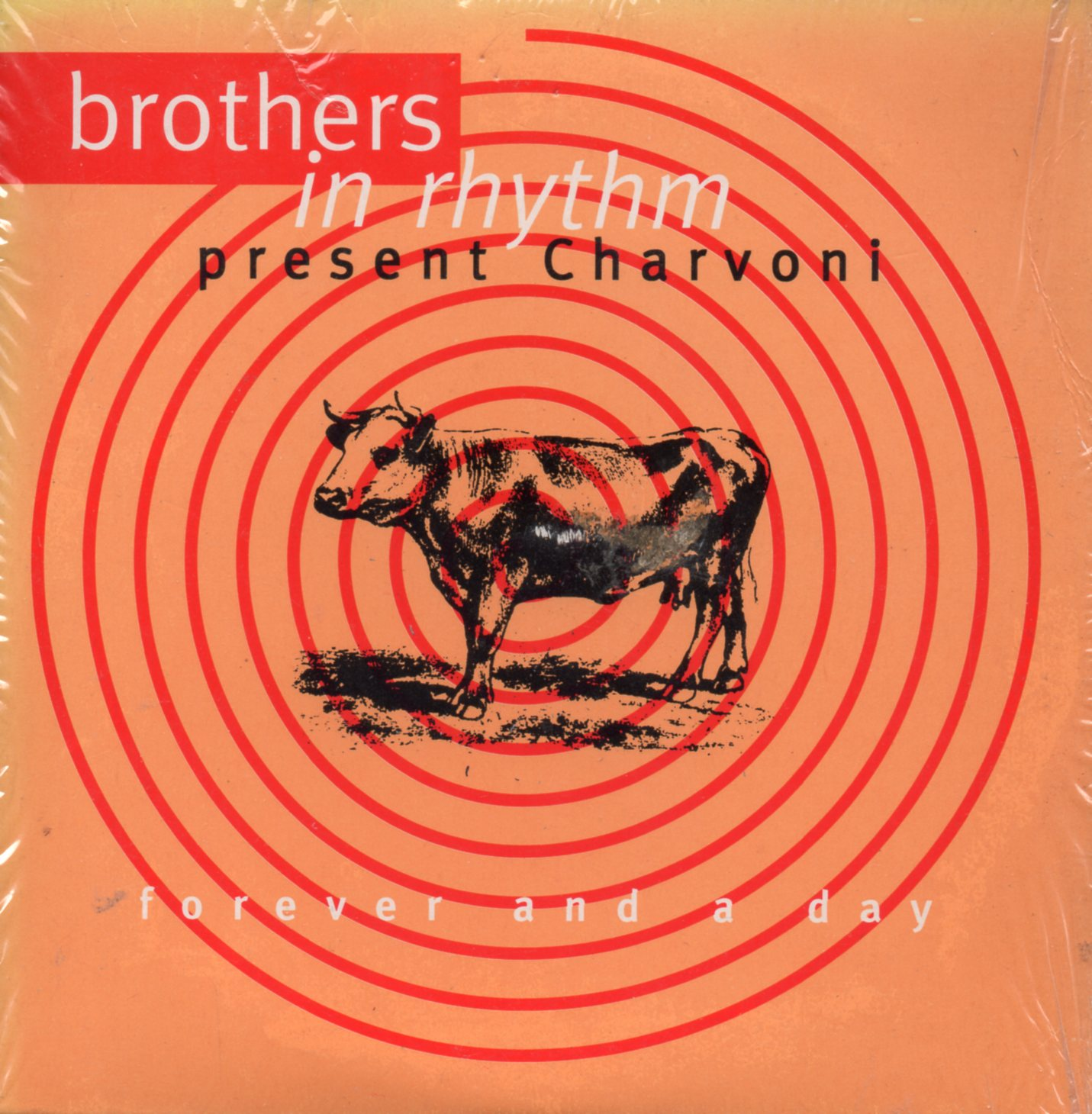 BROTHERS IN RHYTHM PRESENT CHARVONI - Forever And A Day 2-track card sleeve - CD single