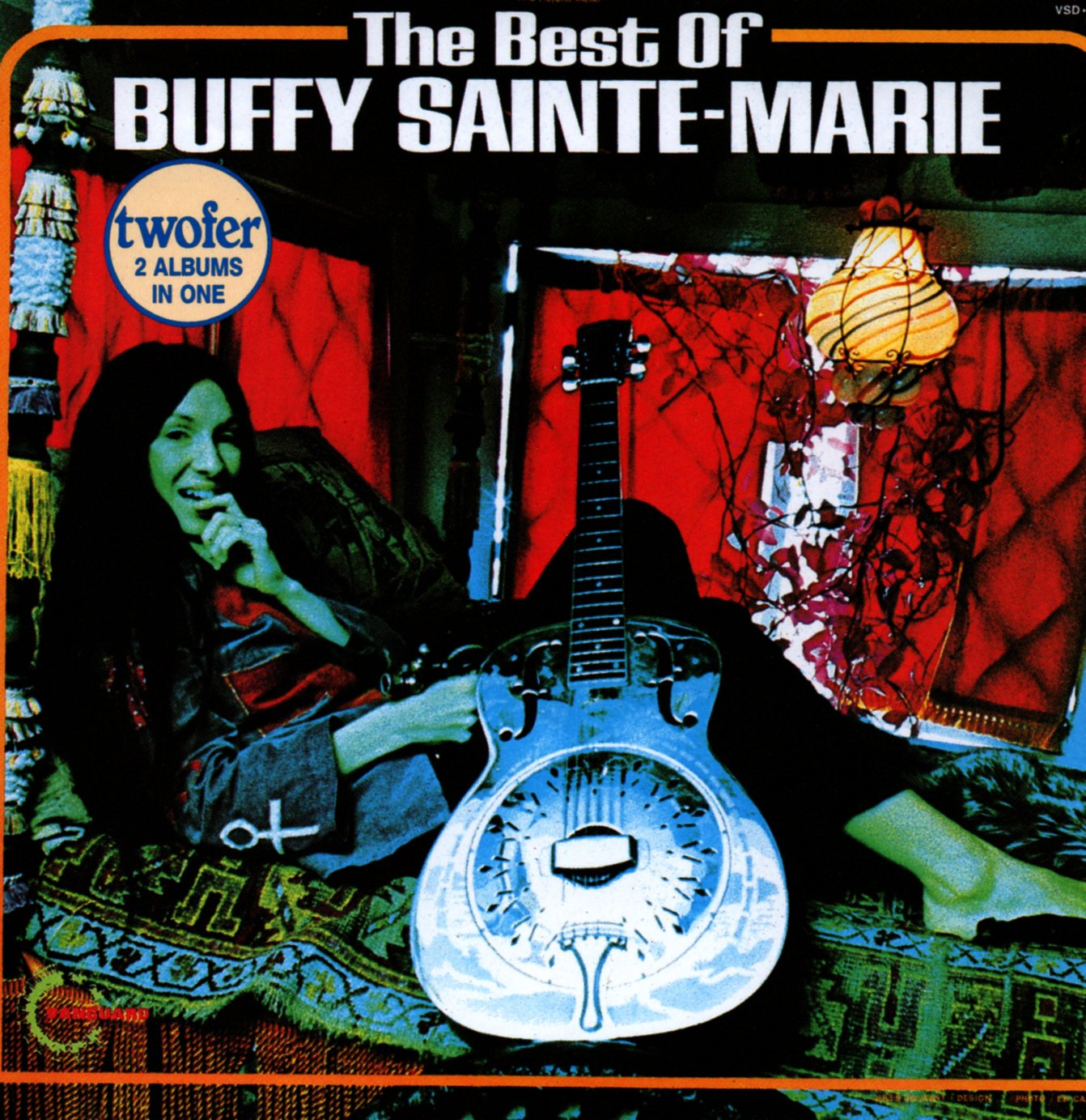 BUFFY SAINTE-MARIE - The best of - CD
