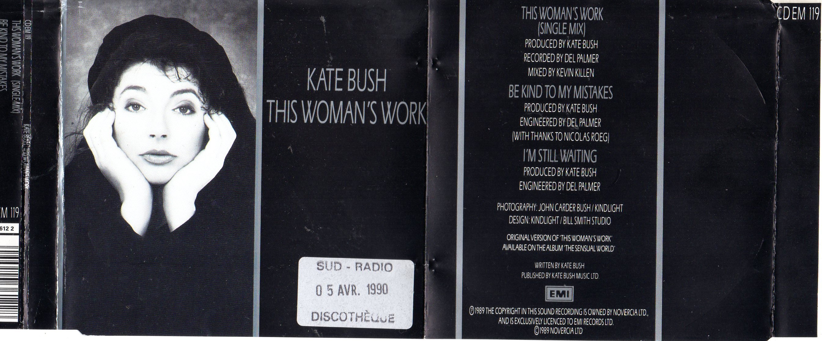 Kate BUSH - This Woman's Work Album
