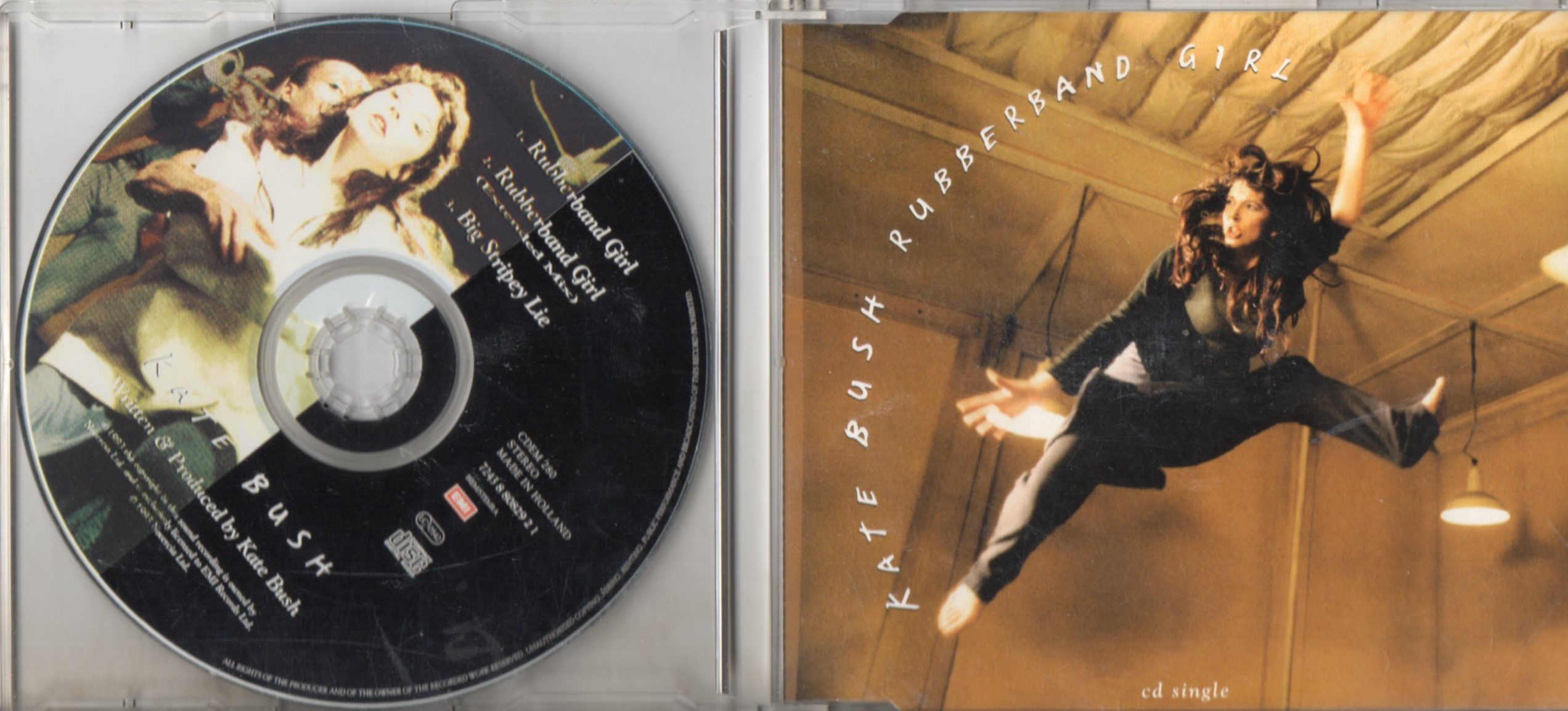 Kate BUSH - Rubberband Girl 3-track Jewel Case