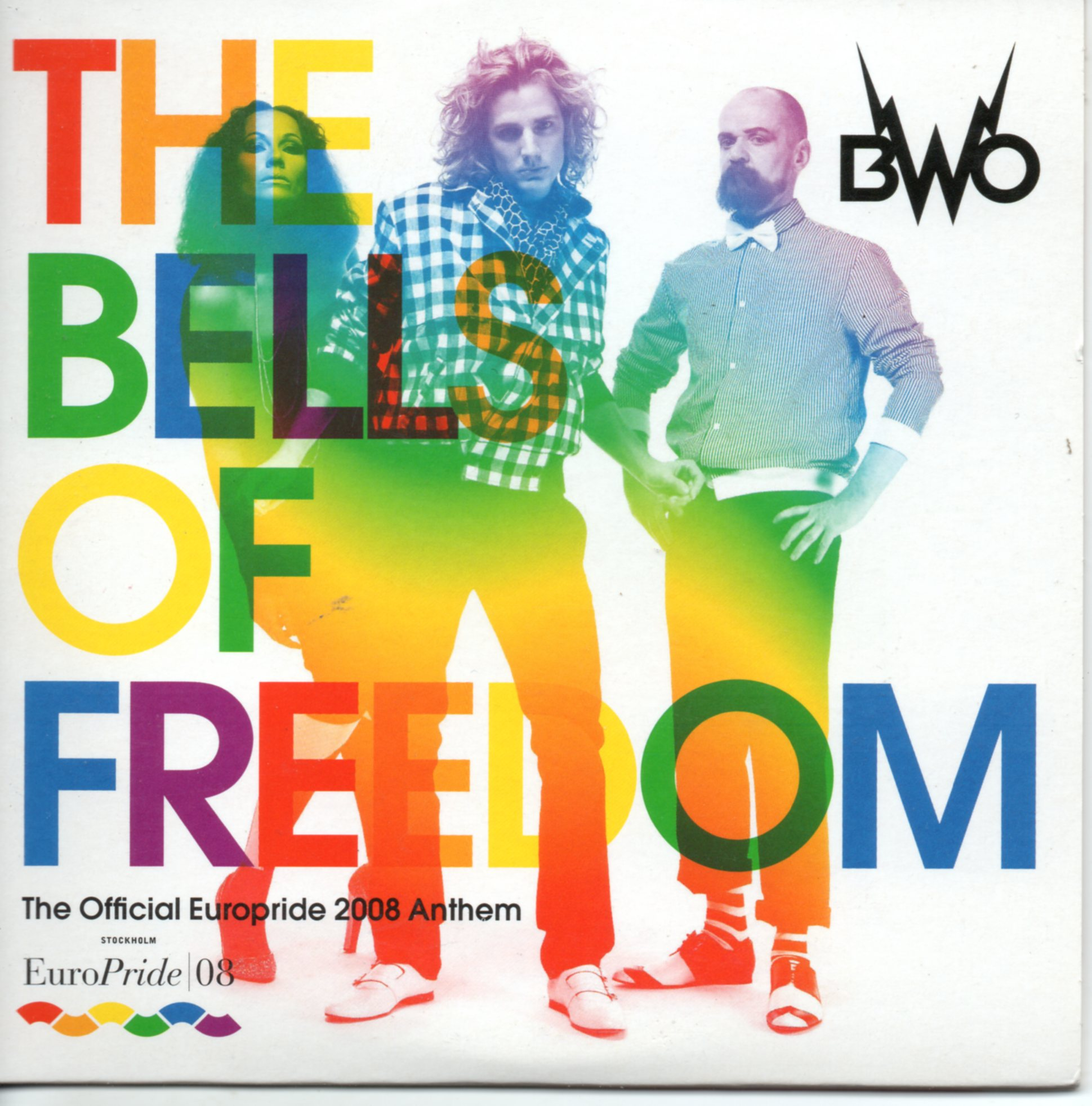 BWO - ARMY OF LOVERS - The bells of freedom Gay europride 2008 6 remixes CARD SLEEVE - CD single