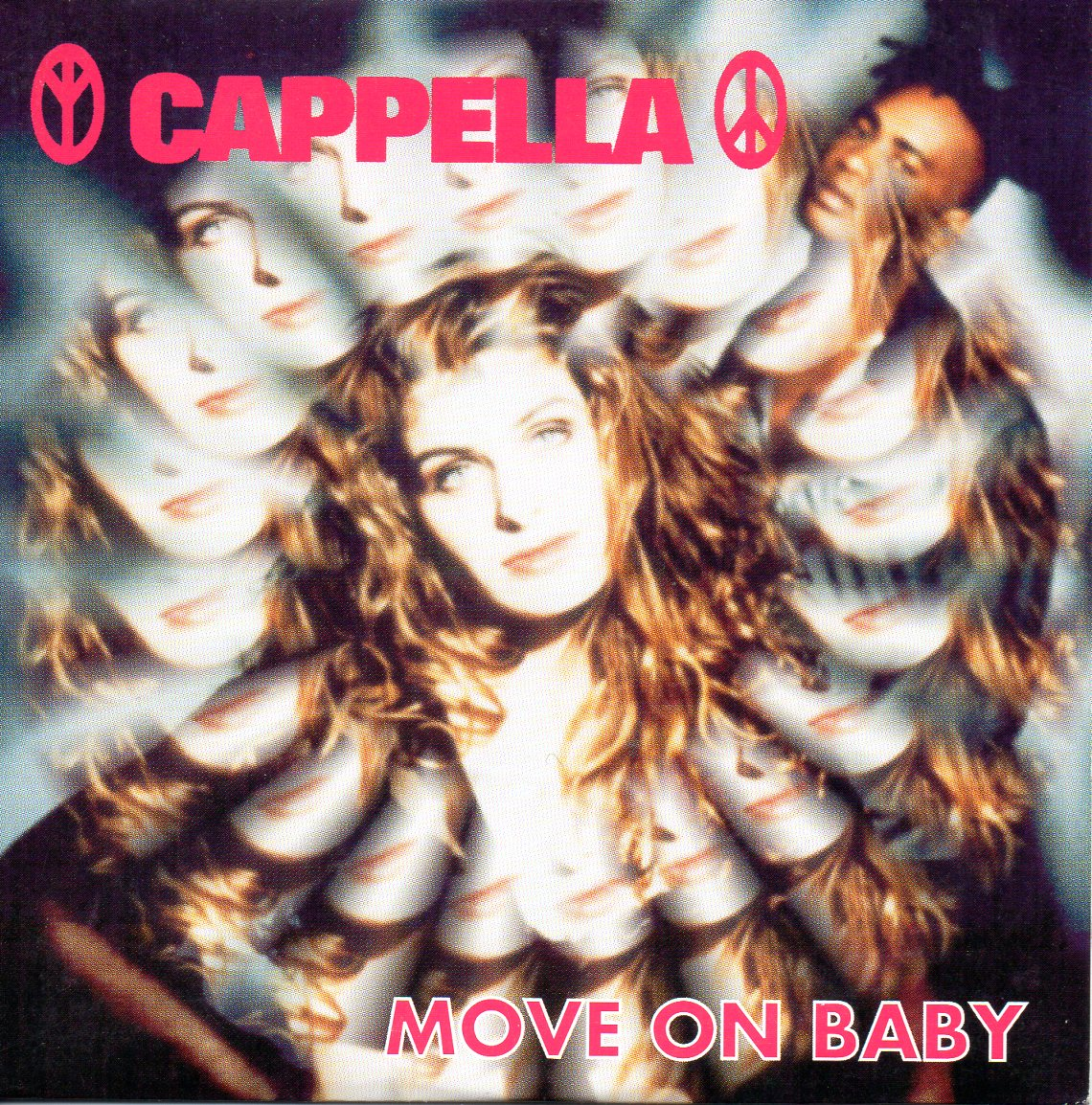CAPPELLA - Move on baby 2-track CARD SLEEVE - CD single