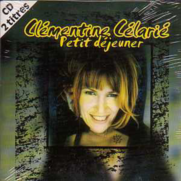 CLÉMENTINE CÉLARIÉ - Petit dejeuner 2-Track CARD SLEEVE - CD single