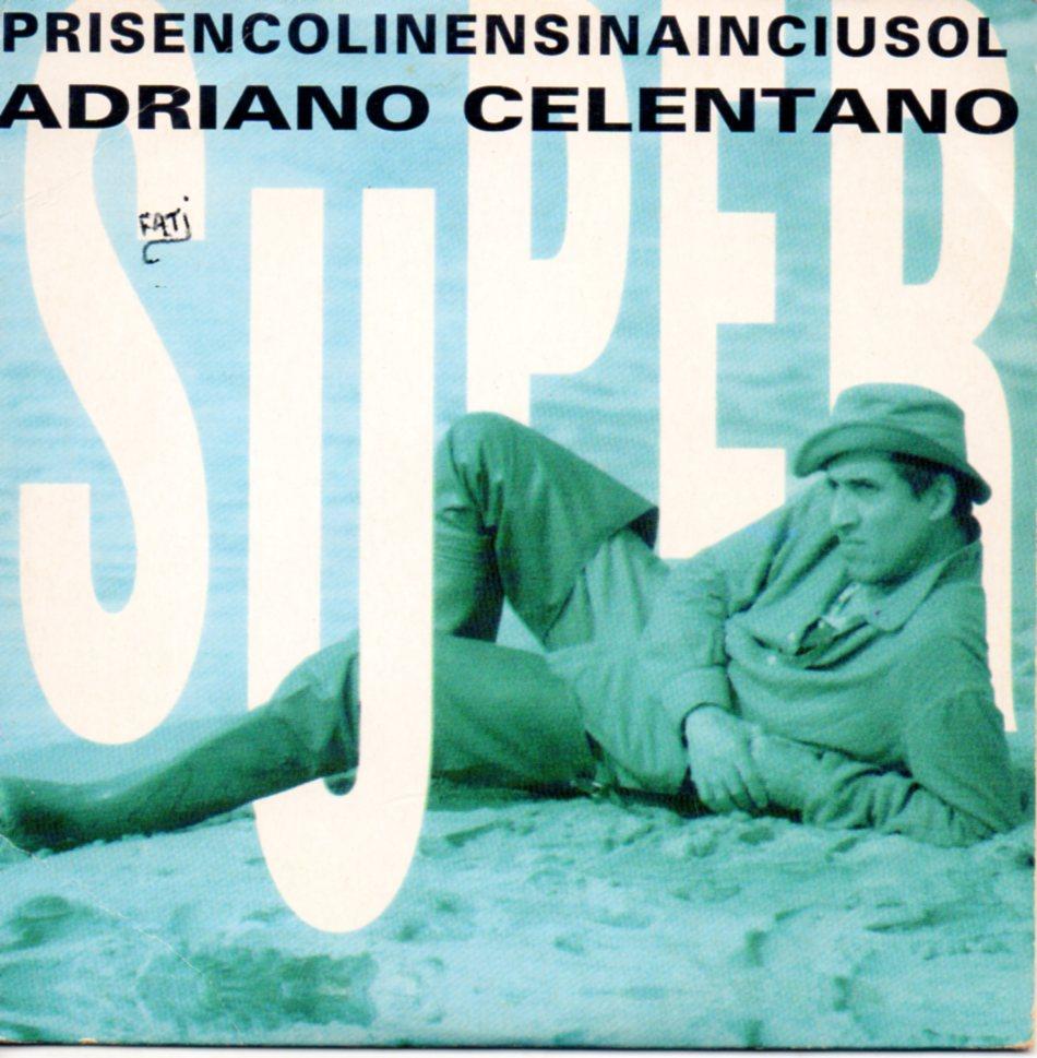 ADRIANO CELENTANO - Prisencolinensinainciusol 92 3-TRACK CARD SLEEVE - CD single