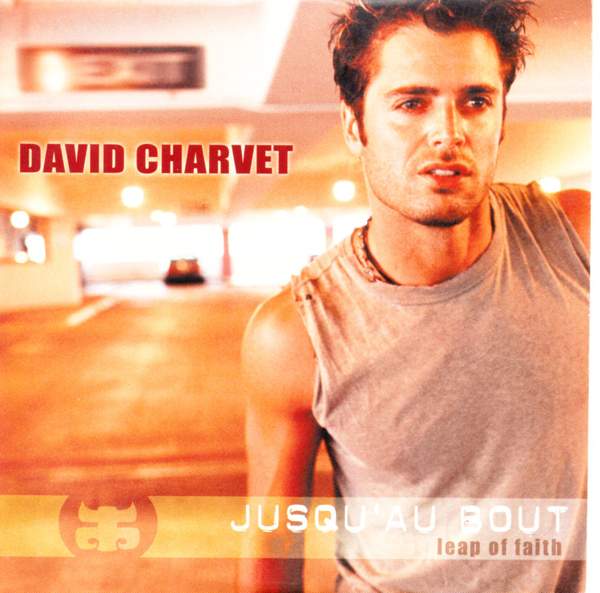 DAVID CHARVET - Jusqu'au bout Promo 1 Track CARD SLEEVE - CD single