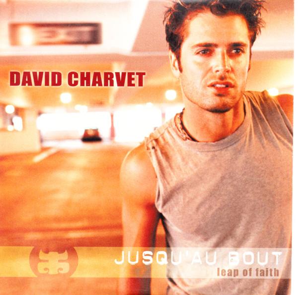 DAVID CHARVET - Jusqu'au bout Promo 1 Track CARD SLEEVE - CD single