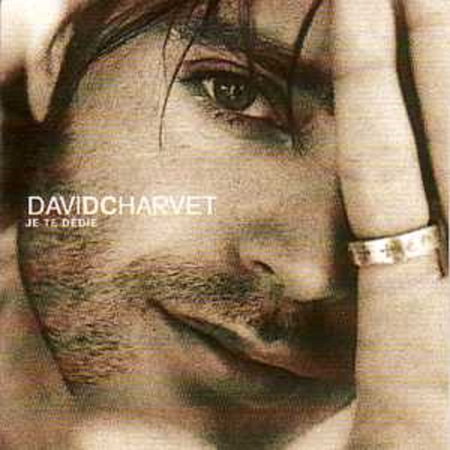 DAVID CHARVET - Je te dedie 2 tracks CARD SLEEVE - CD single