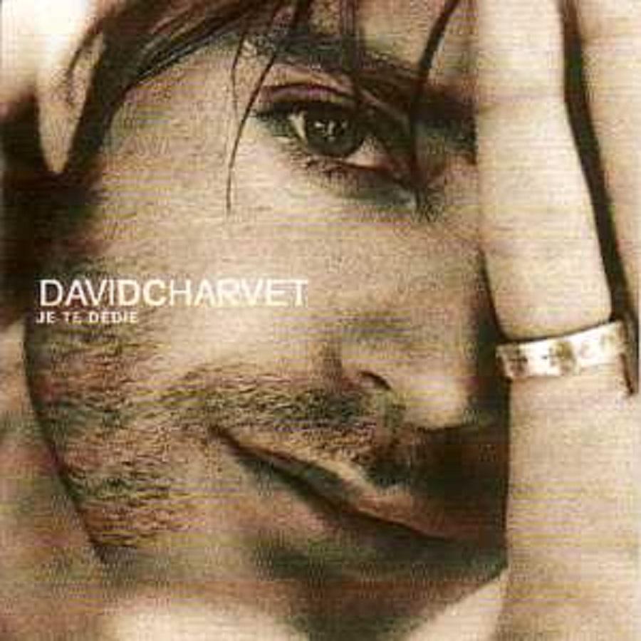 DAVID CHARVET - Je te dedie 2-track CARD SLEEVE - CD single