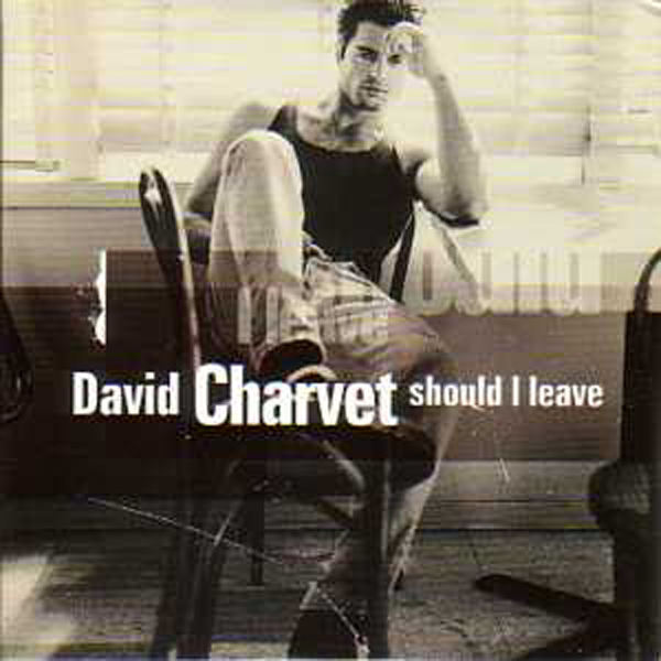 DAVID CHARVET - Should I leave 2 Tracks CARD SLEEVE - CD single