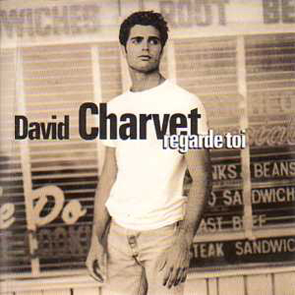 DAVID CHARVET - Regarde moi 2-Track CARD SLEEVE - CD single