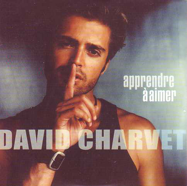 DAVID CHARVET - Apprendre à aimer 2-track CARD SLEEVE - CD single