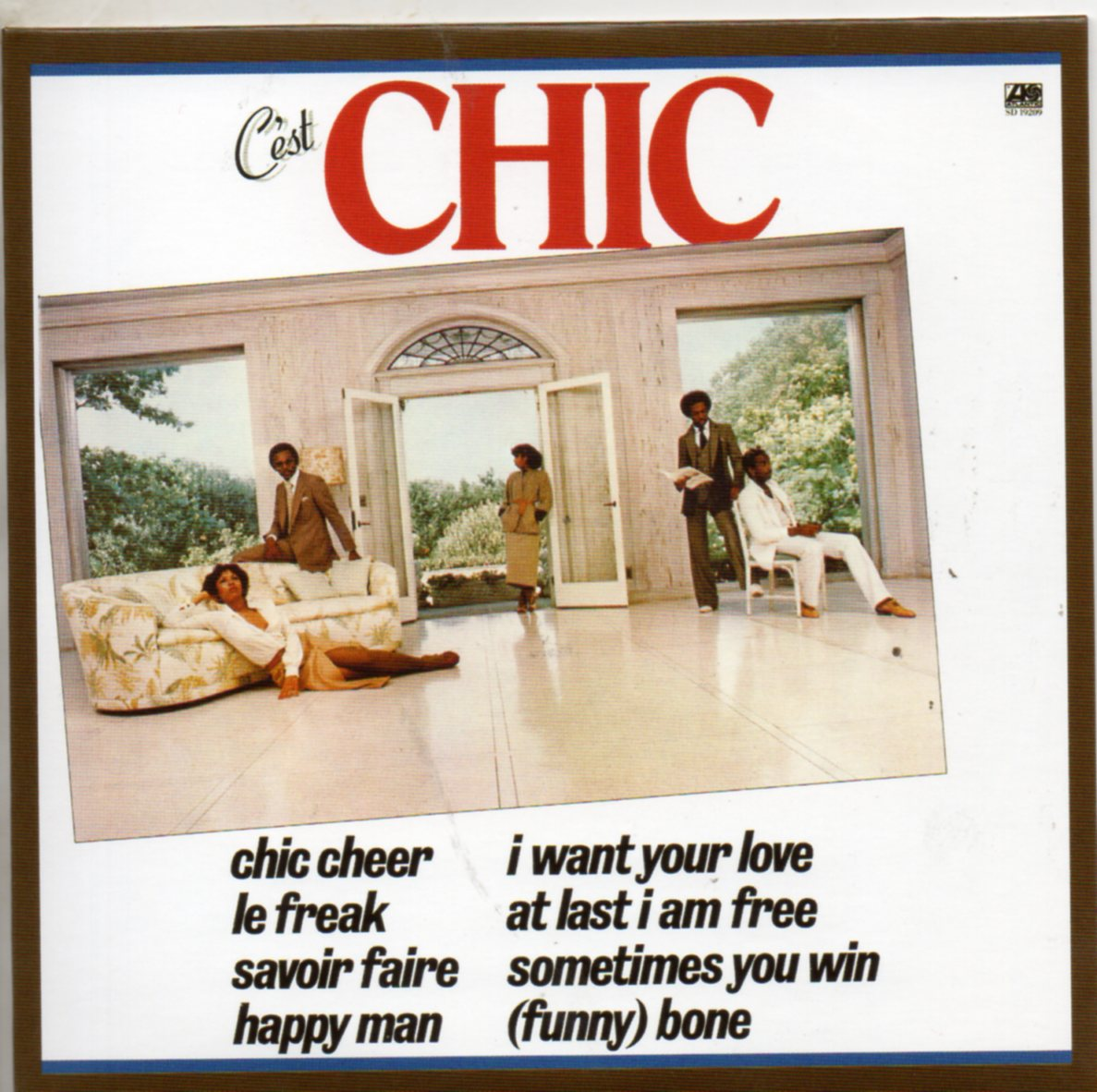 CHIC - Your Love 5 Remixes Jewel Case