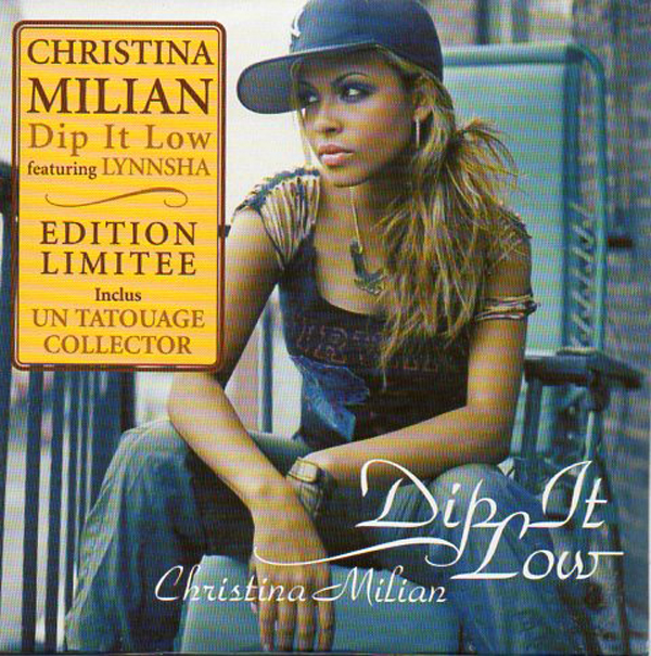 Christina MILIAN - Dip It Low - French Ltd Ed - 2-track Card Sleeve