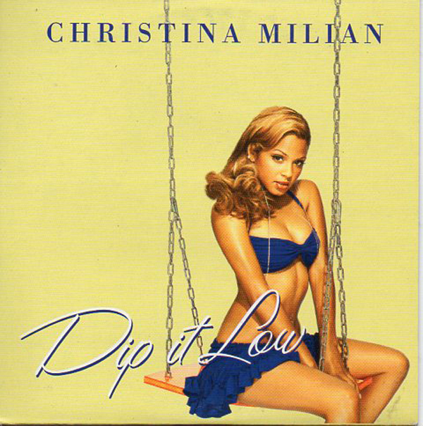 Christina MILIAN - Dip It Low - Spain Promo - 1-track Card Sleeve