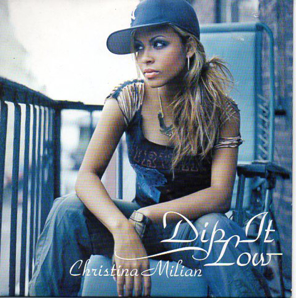 Christina MILIAN - Dip It Low - France Promo - 3-track Card Sleeve