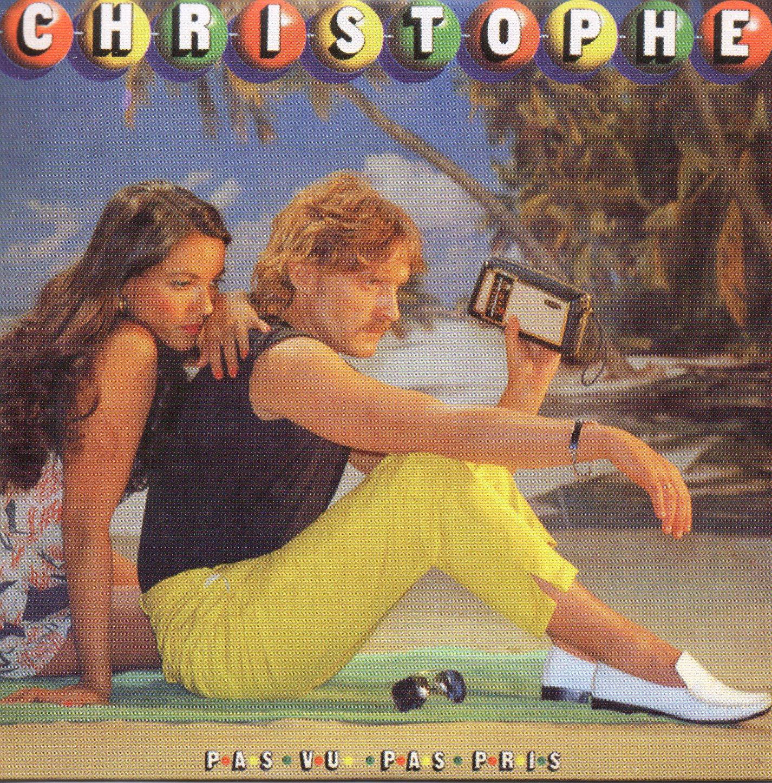 CHRISTOPHE - Pas vu pas pris - Mini LP Replica CARD SLEEVE - 8-TRACK - CD